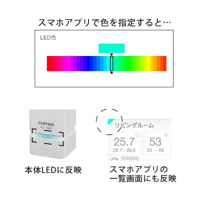 HLT-100BT LED颜色设置