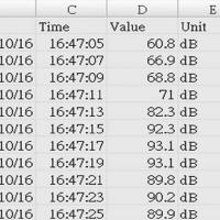 SL-1373SD CSV文件示例